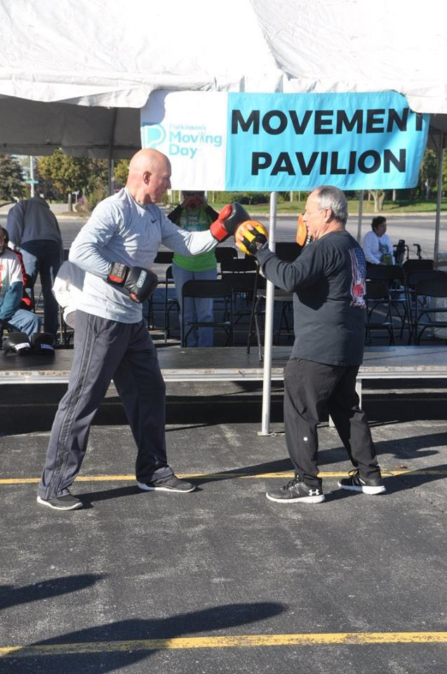 Boxing at the Movement Pavilion!