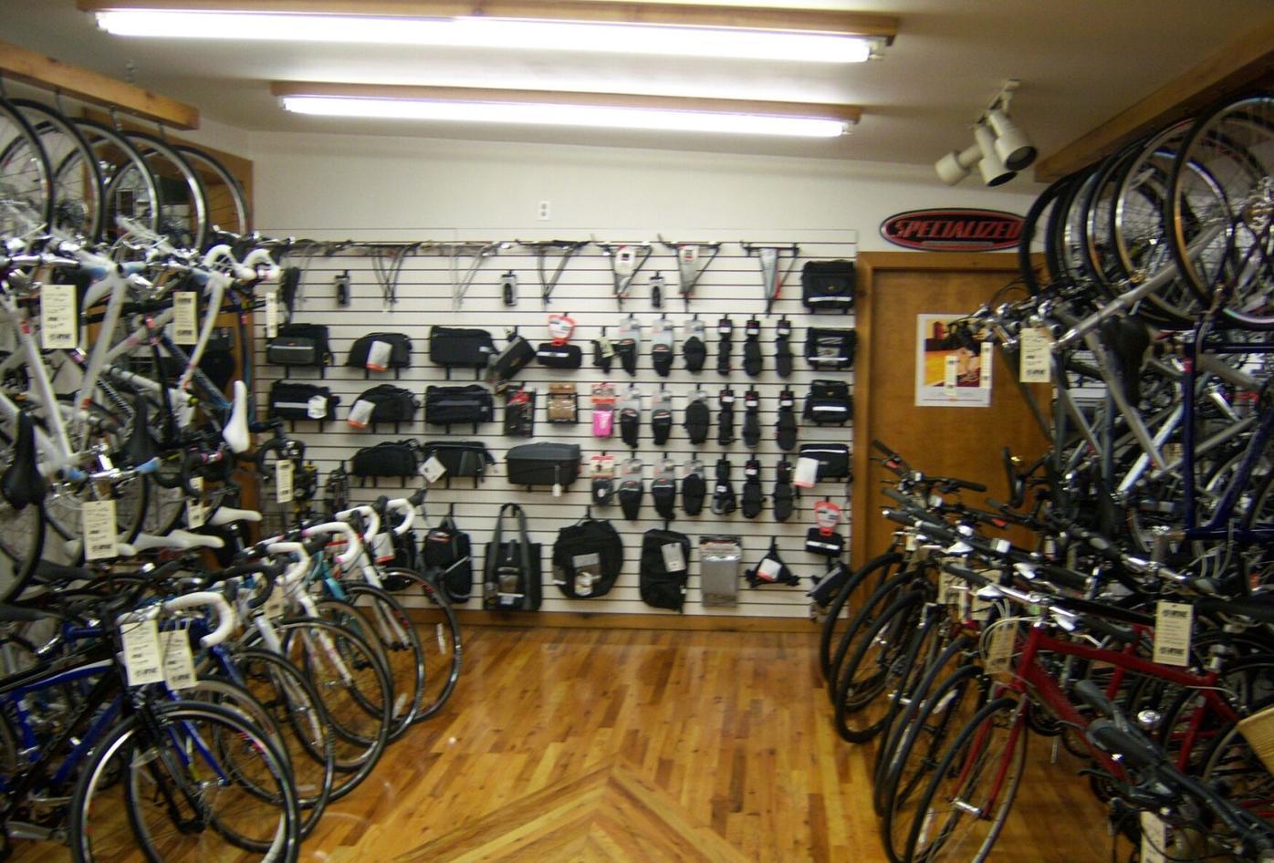 RV&E accessories and road hybrid bikes!