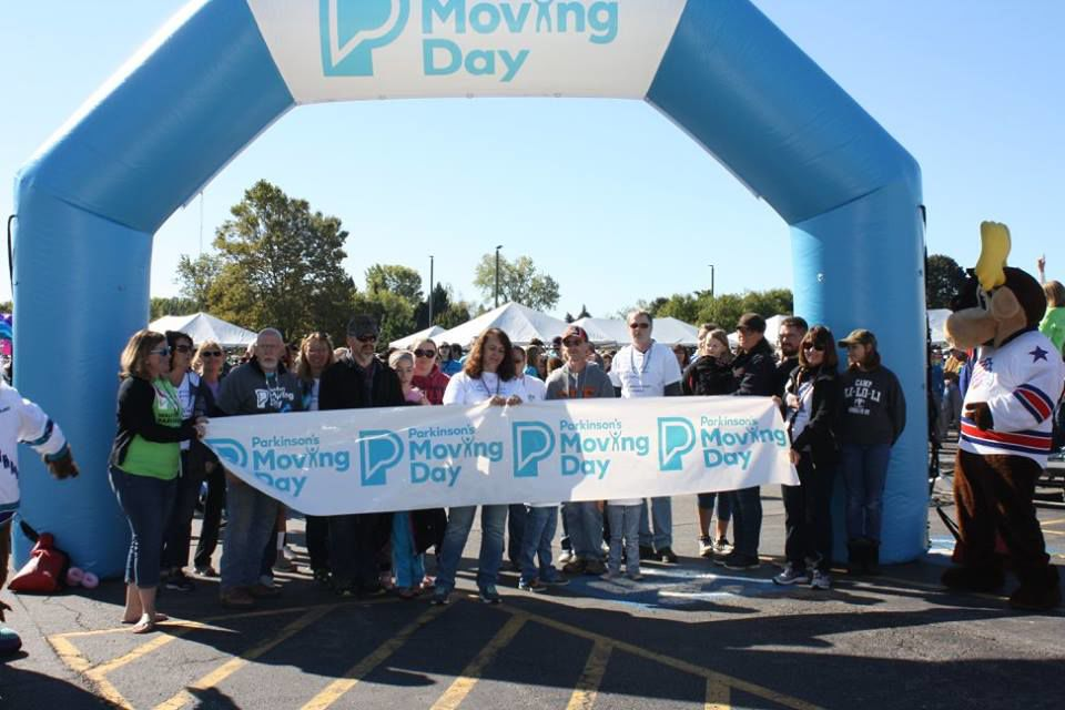 Joining together for Moving Day!