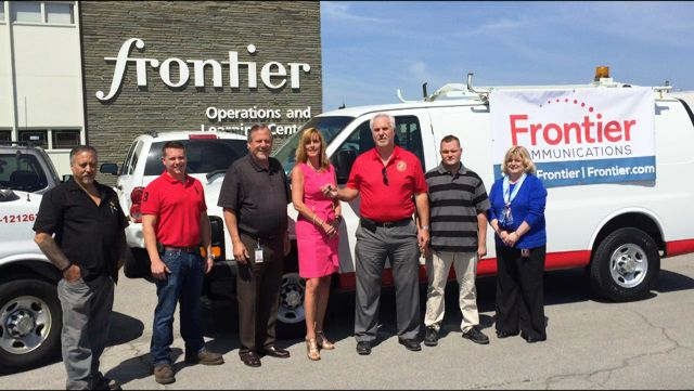 Maroney Auto Sales >> Frontier Communications Donates Van to Marine Corps Coordinating Council | | gvpennysaver.com
