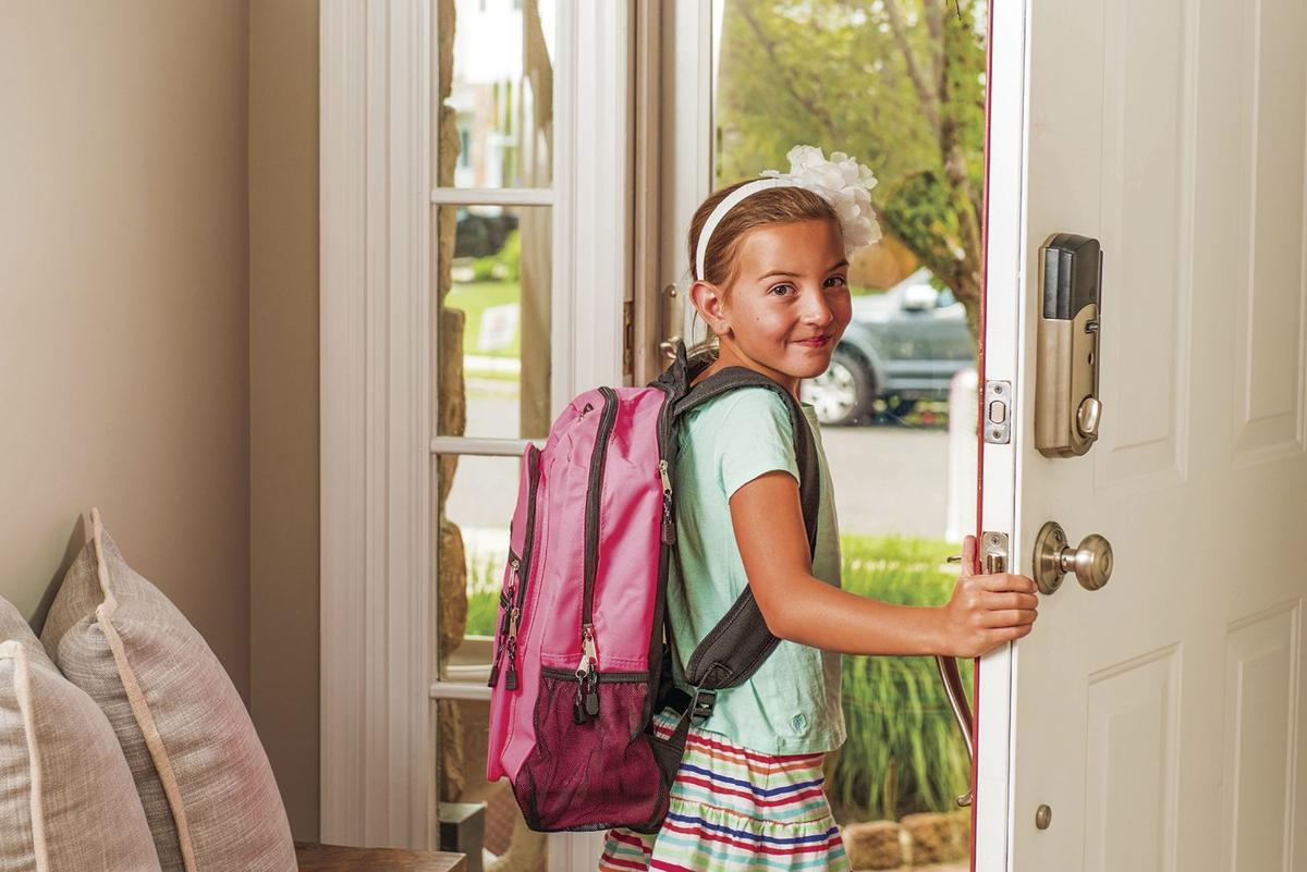 Girl Going to School Generic