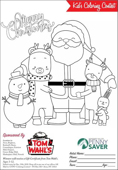 Kids Coloring Contest | Contests | gvpennysaver.com