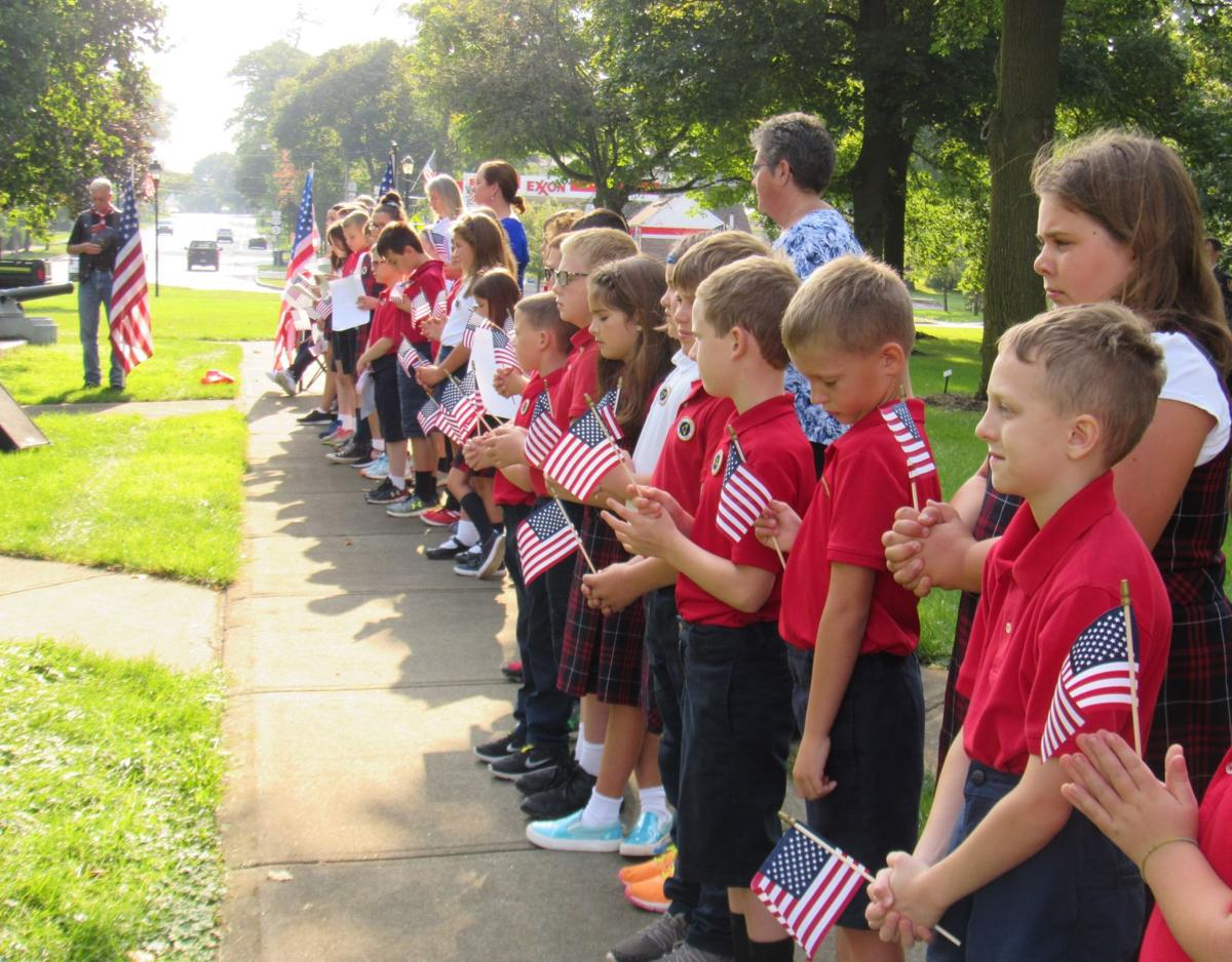 St. Agnes School and the Village of Avon Sponsor Remembrance Ceremony