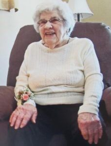 Esther E. Sharpe - January 22, 2021