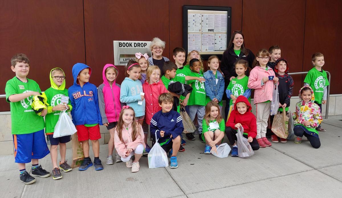 1st grade class visit