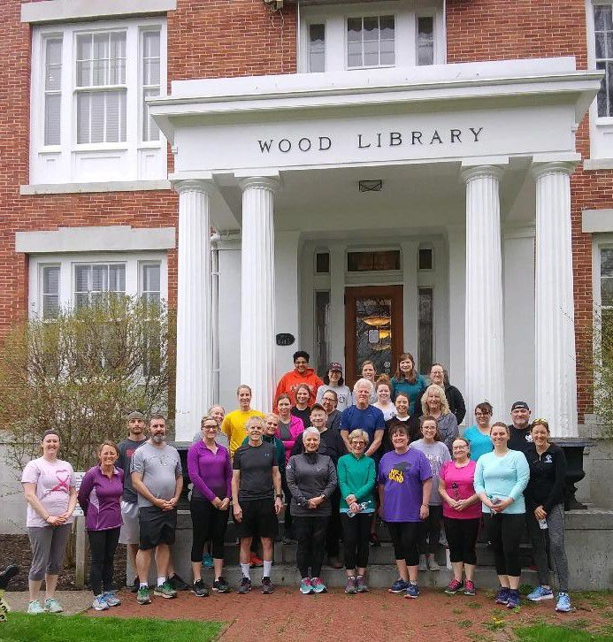 Wood Library's 5K Training Program is underway!