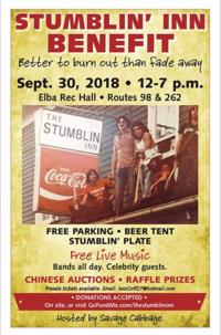 Stumblin' Inn Benefit | Benefits, Lunches & Dinners