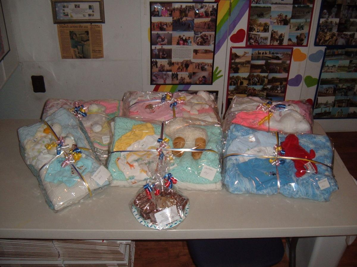 Mama Cindy's donation to Noyes' First Steps Program!