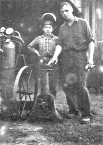 Tom Sargent and his Father