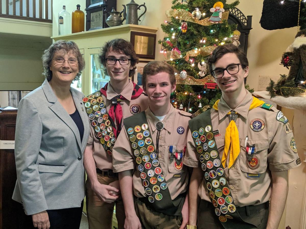 Assemblywoman Byrnes honors Eagle Scouts