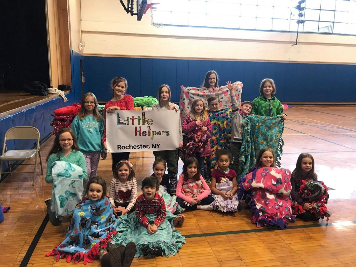 Little Helpers of Rochester supports Project Linus!