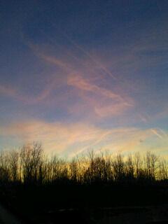 Alabama, NY Sunset