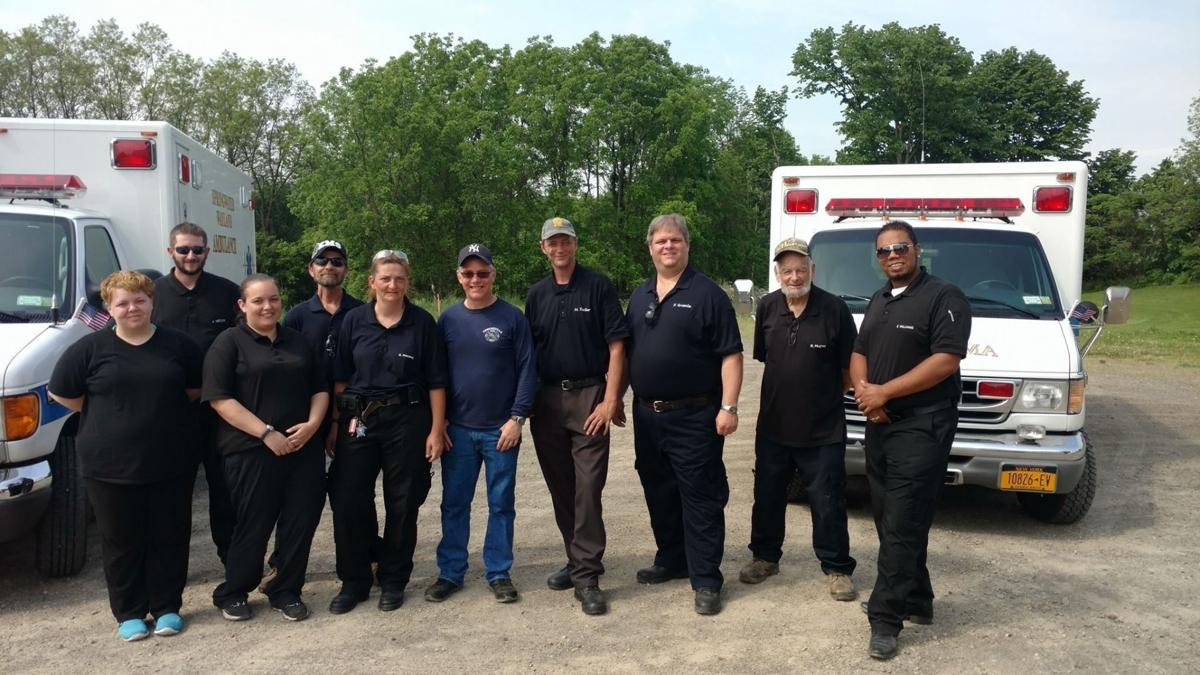 Volunteers with the Springwater Wayland EMS selflessly serve area families