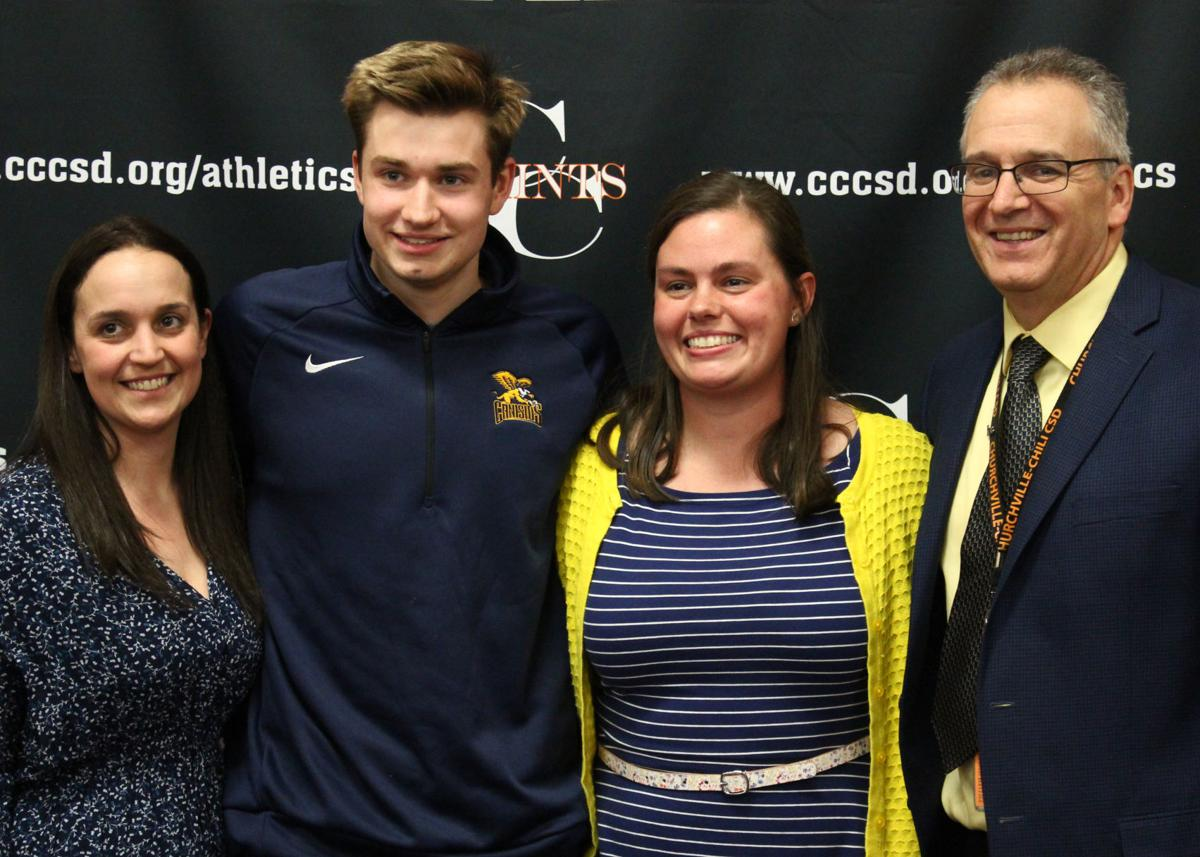 Top Churchville-Chili HS swimmer signs with Canisius College