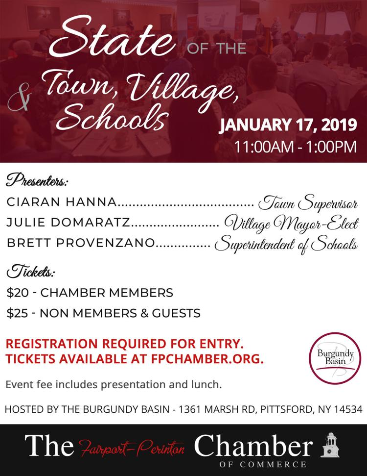 State of the Town, Village, & Schools 2019
