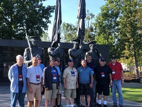 Assemblyman Hawley (R,C,I-Batavia) and local veterans