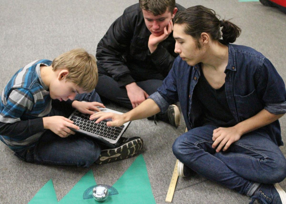 NGA students learn that successful collaboration takes a team