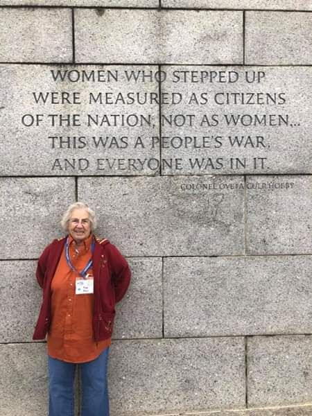 WWII Veteran Euphemia Faye Blye