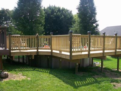 Franchize Construction Deck