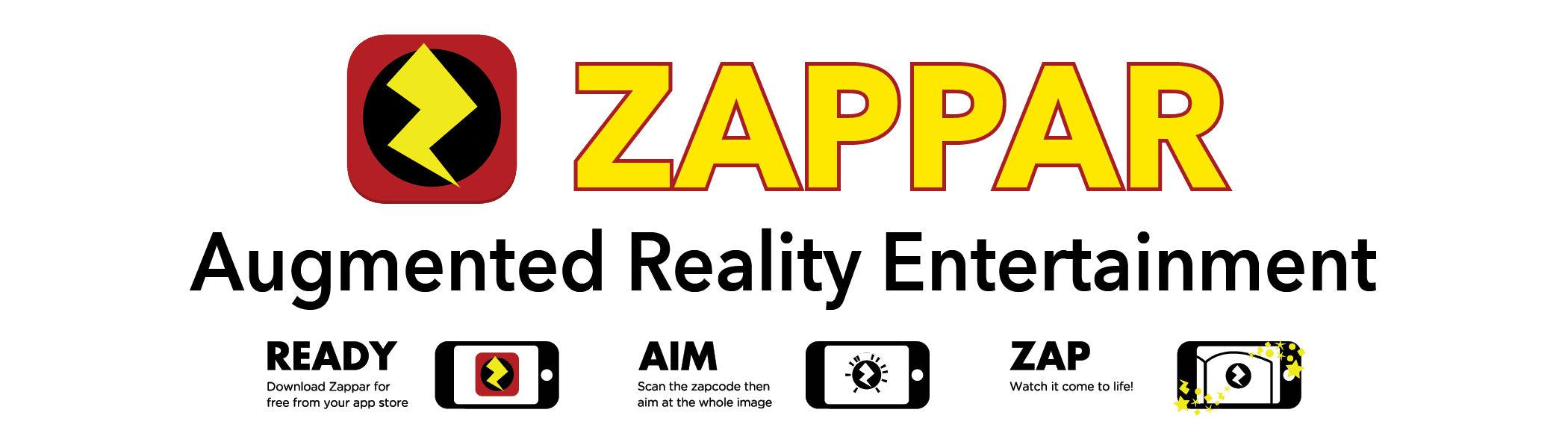 Zappar Augmented Reality Entertainment