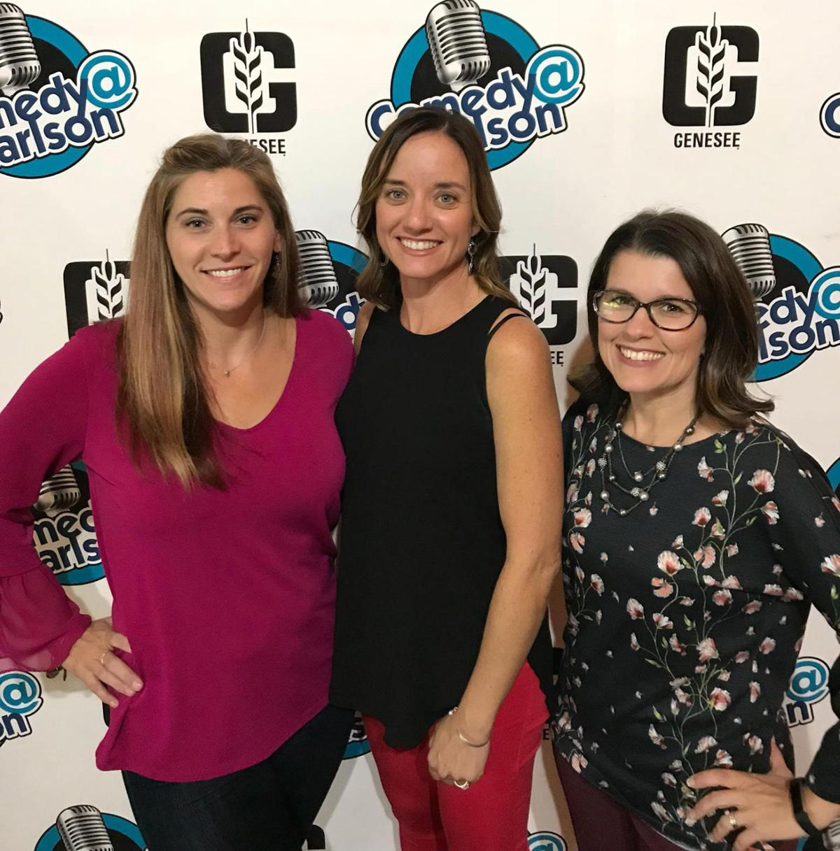 Jeanette Wittmeyer, Colleen Bedford & Jamie Buss