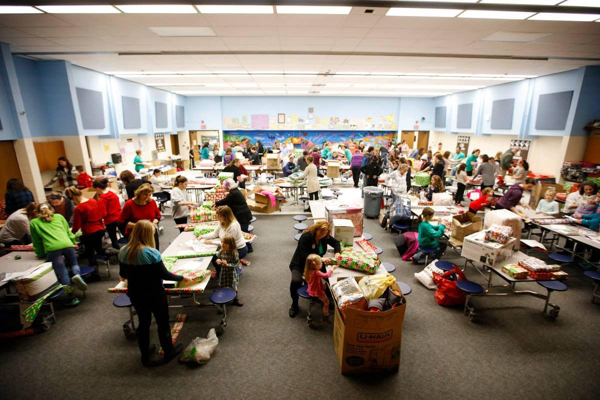 The Goodness Initiative Wrapping Party