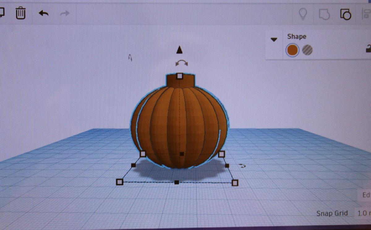 A student project in CAD