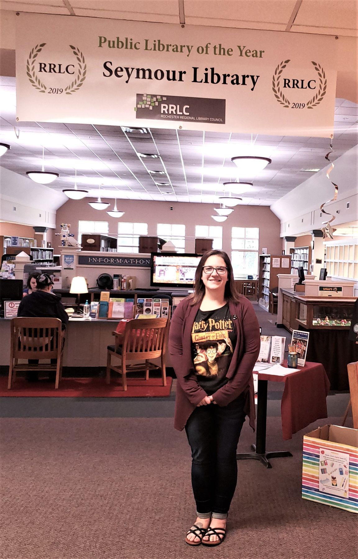 Abby DeVuyst, Adult Services Librarian!