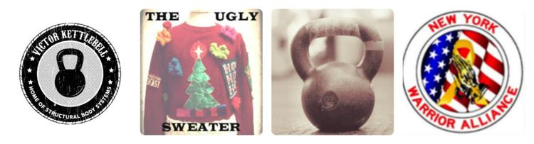 Ugly Sweater Kettlebell Swing a thon