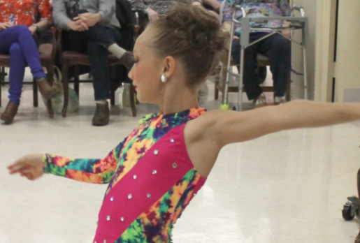 Tammy Allen Dance Academy performed at the M.M. Ewing Continuing Care Center in Canandaigua