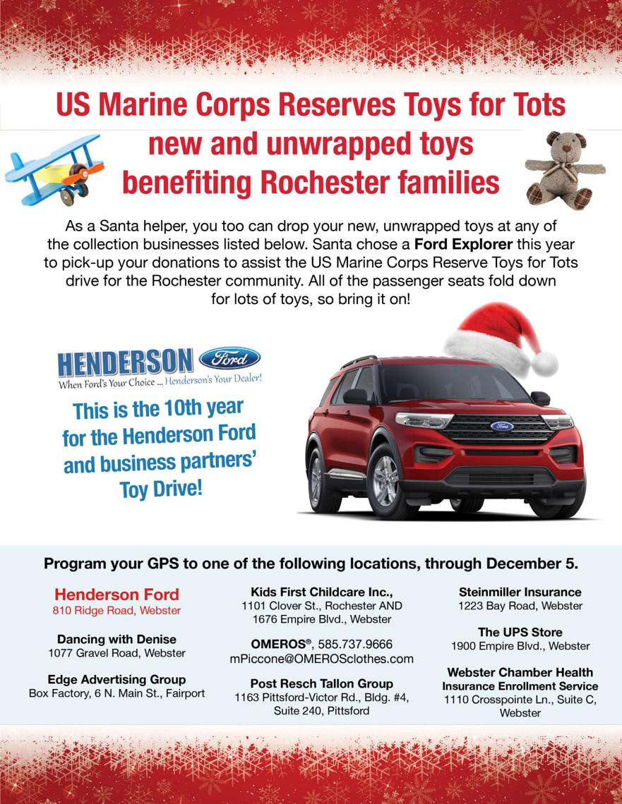 Henderson Ford Toy Drive