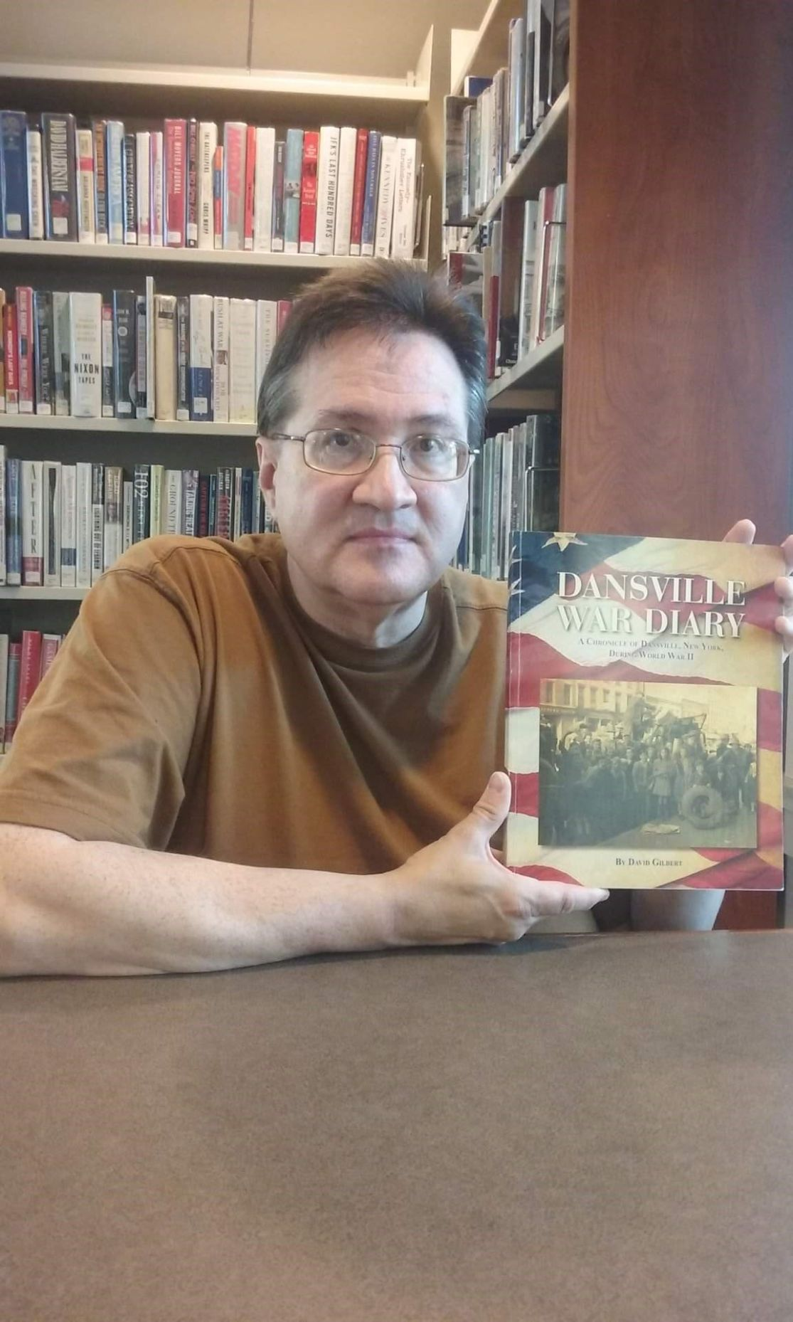 David Gilbert and his latest book