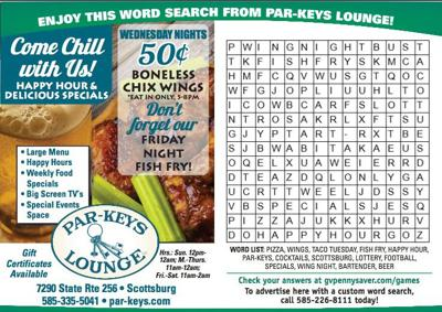 Par-Key's Word Search & Answers   Games   gvpennysaver.com