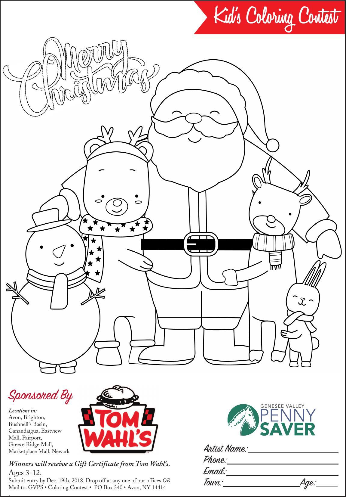 DOWNLOAD A COPY - Kids Coloring Contest 2018 ...