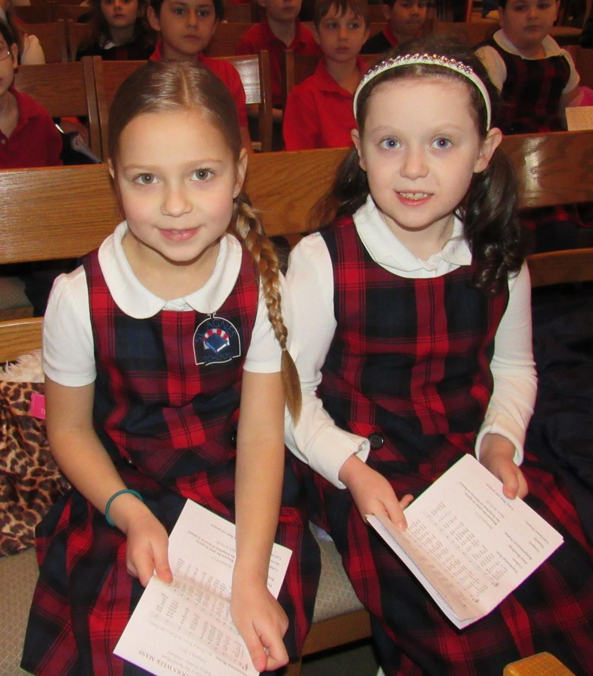 Two St. Agnes students