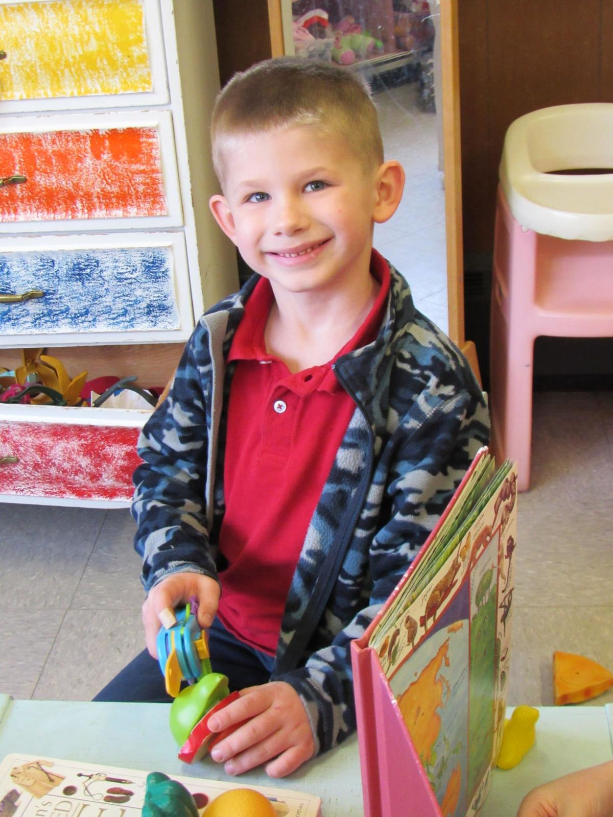 All smiles at St. Agnes School!