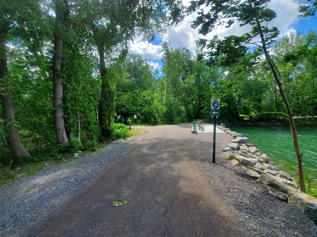 The Ellicott Trail is perfect for cycling!