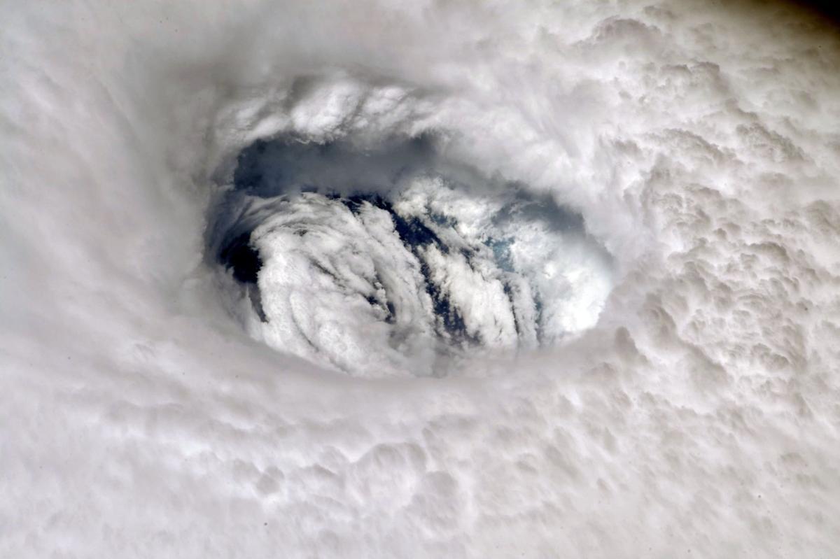 Hurricane Dorian's eye