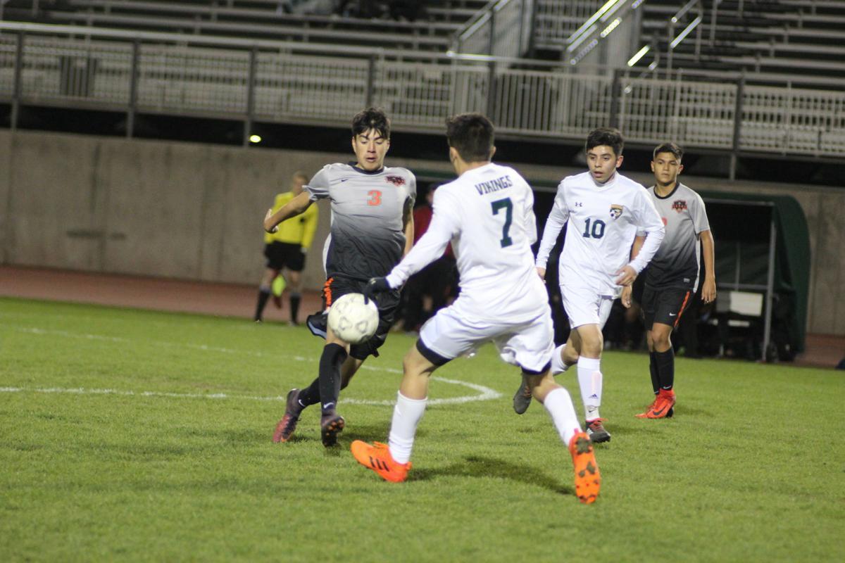 Kingsburg/Selma soccer: Exavier Leanos/Alan Salazar