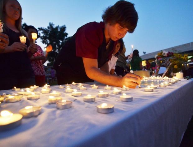 Candlelight vigil