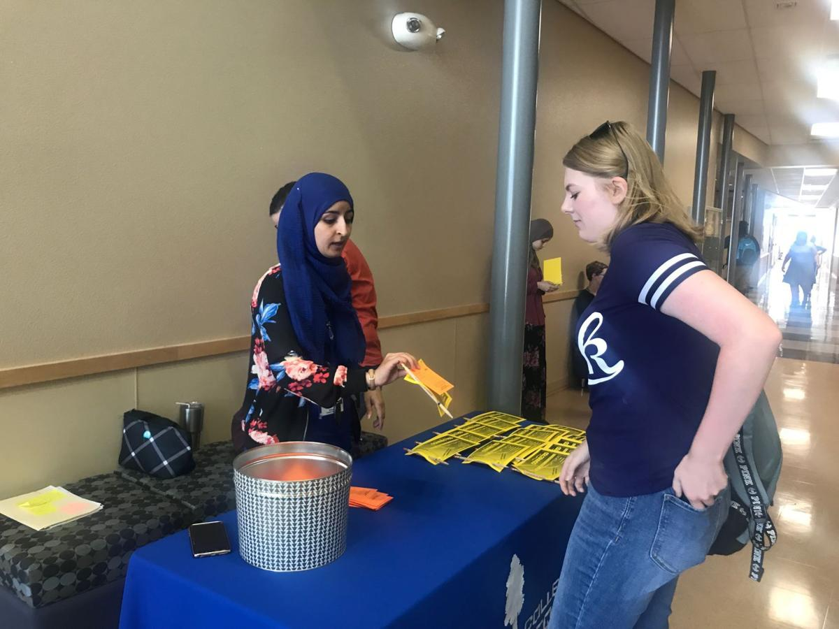 Students are back at the COS Hanford Center