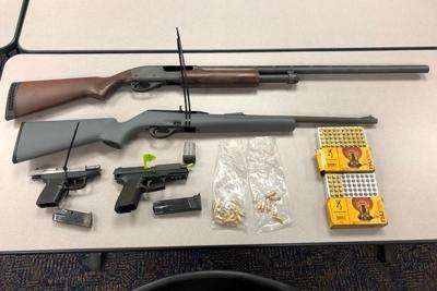 Kingsburg Police: Weapons retrieved