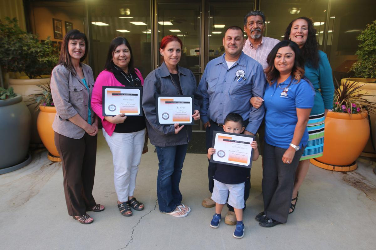 District: Employees acknowledged