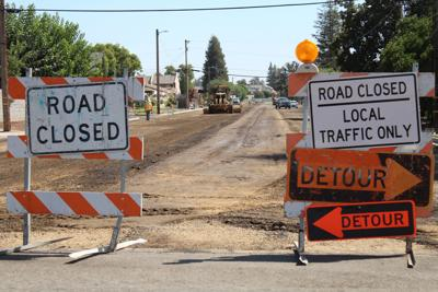 Drivers cautioned: Road reconstruction