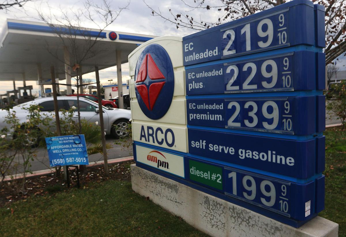 Lower gas prices: Fewer taxes for the city