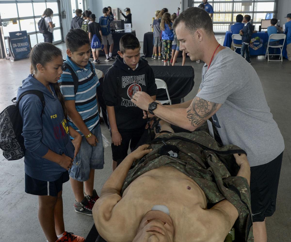 San Diego Fleet Week Hosts STEM Day