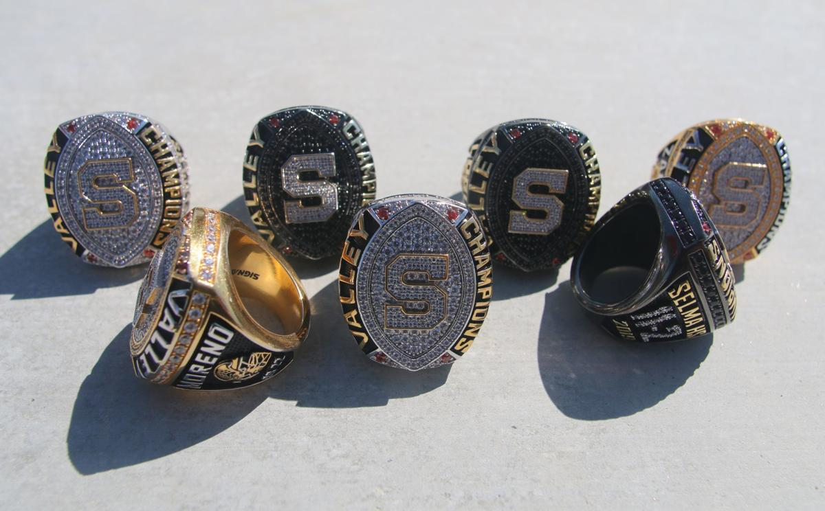 Selma's championship football rings