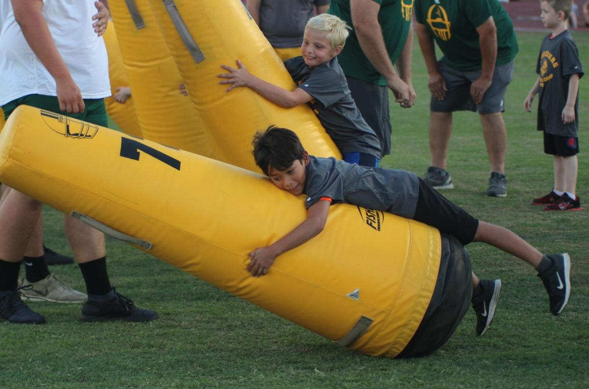 Kingsburg holds youth football camp