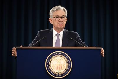 Virus Outbreak Federal Reserve