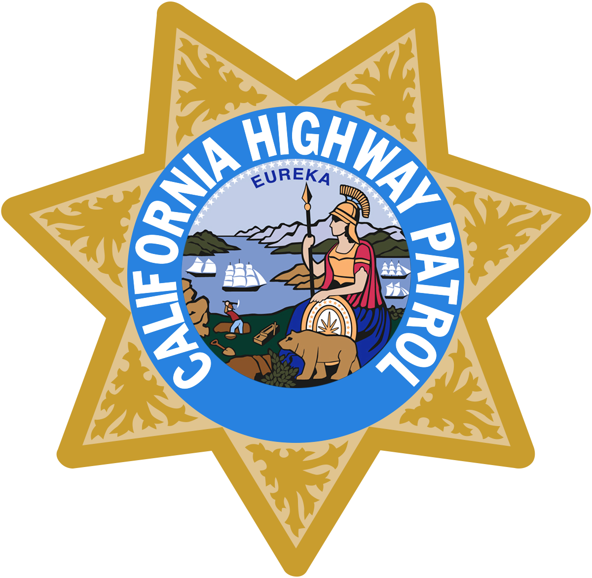 California Highway Patrol (CHP) logo